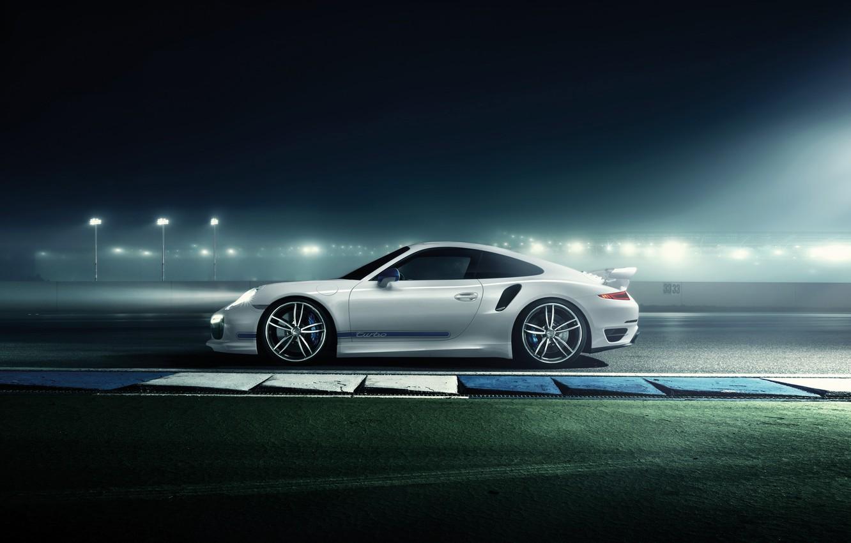 Фото обои Porsche 911, tuning, TechArt