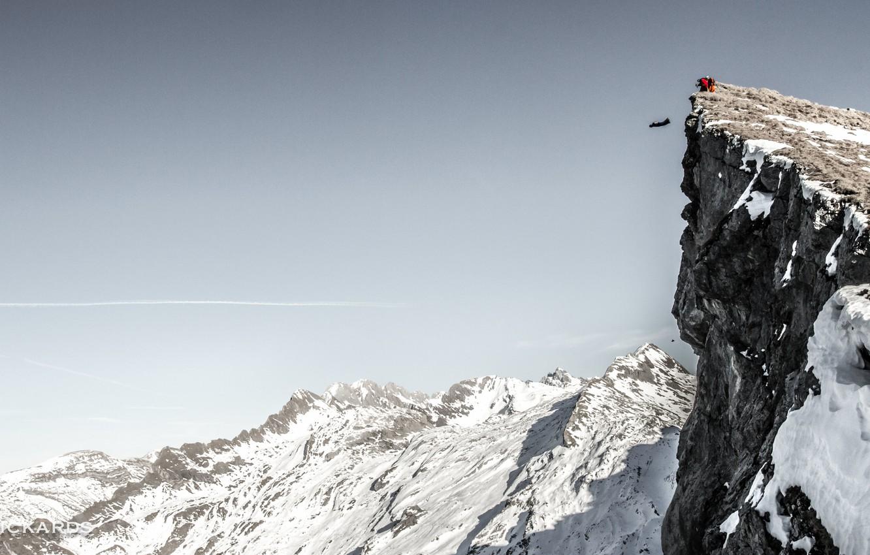 Обои Ski, speed rider, спидглайдинг, canopy, Лыжи, экстремальный спорт. Спорт foto 9