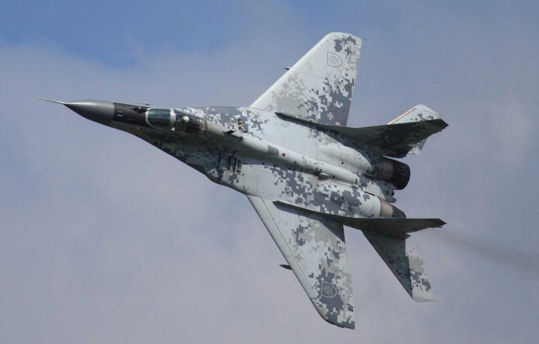 Обои МиГ-29М, ВВС Польши, многофункциональный истребитель. Авиация foto 12