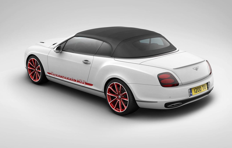 Фото обои Bentley, Continental, Supersports
