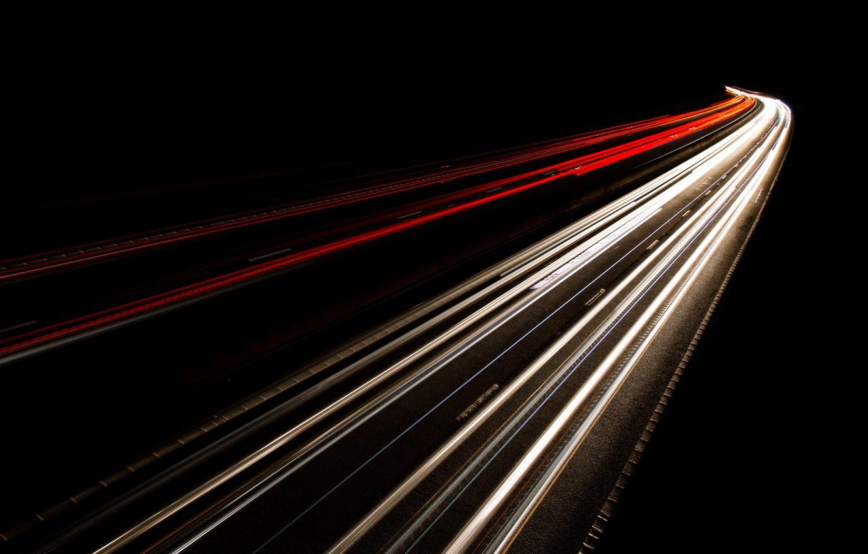 Обои дорога, ночь, огни. Разное foto 13