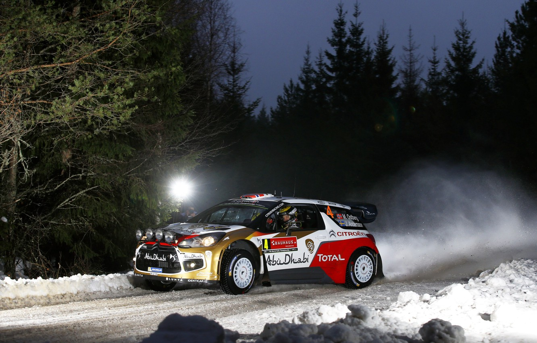 Фото обои Rally Sweden, DS3, WRC, Mads Ostberg