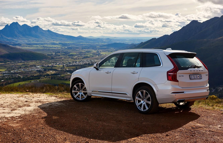 Фото обои Volvo, XC90, вольво, 2015, ZA-spec, Momentum