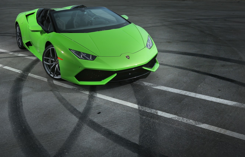 Фото обои Lamborghini, ламборгини, LP 610-4, Huracan, хуракан