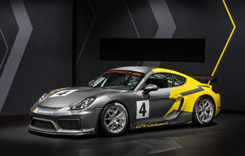 Фото обои Porsche, Cayman, порше, GT4, кайман