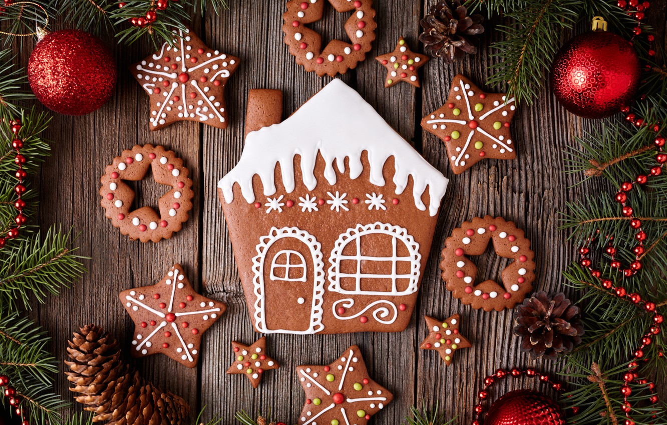 Обои christmas, cookies, decoration, рождество, xmas, Merry. Новый год foto 7