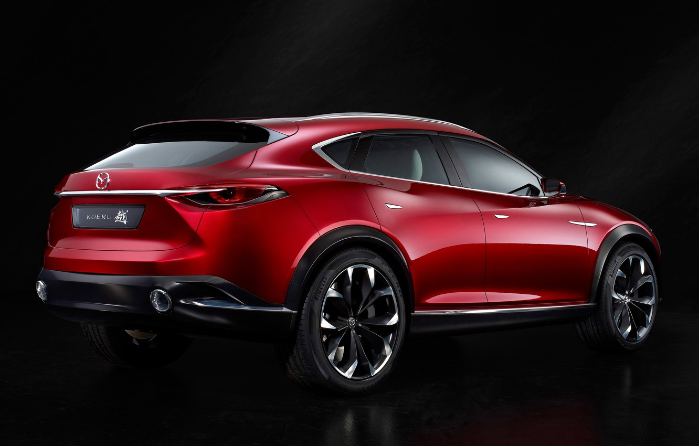 Фото обои Concept, концерт, Mazda, мазда, кроссовер, 2015, коеру, Koeru