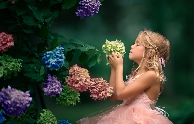 Обои настроение, Девочка, цветок. Настроения foto 8