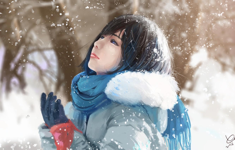 хотелось красивые рисунки девушек в снегу муж, свою очередь