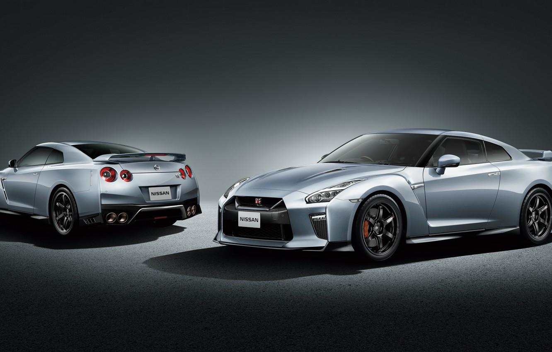 Фото обои фон, Nissan, GT-R, ниссан, R35