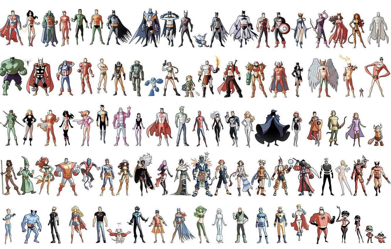 Главные герои марвел список с картинками