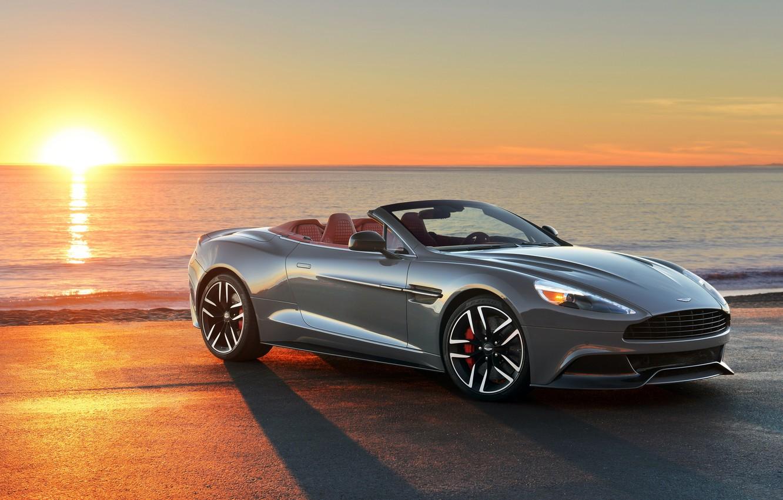 Фото обои Aston Martin, астон мартин, US-spec, 2013, Vanquish, ванквиш, Volante