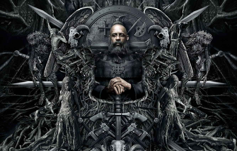 Фото обои Vin Diesel, 2015, The Last Witch Hunter, Последний Охотник На Ведьм
