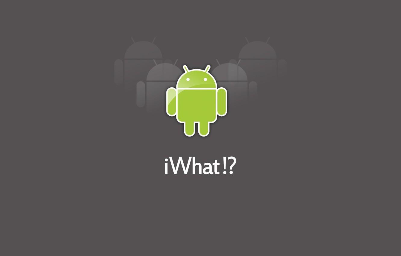 Фото обои робот, андройд, android