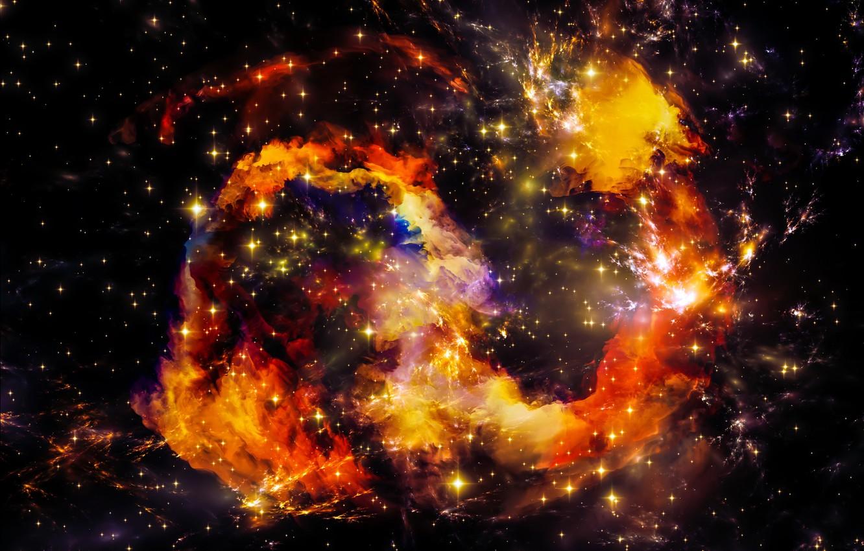 Обои space, universe, stars, background, вселенная. Абстракции foto 16