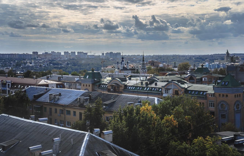 Обои крыши, россия, russia, Облака, kaluga. Города foto 14