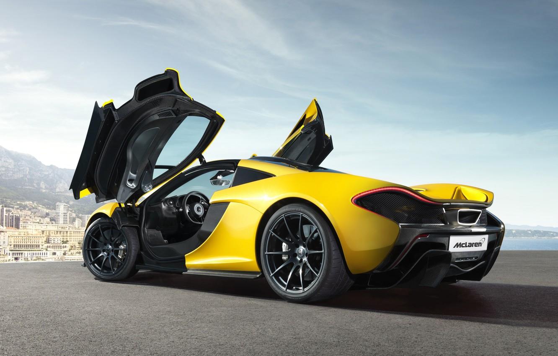 Фото обои McLaren, гиперкар, McLaren P1