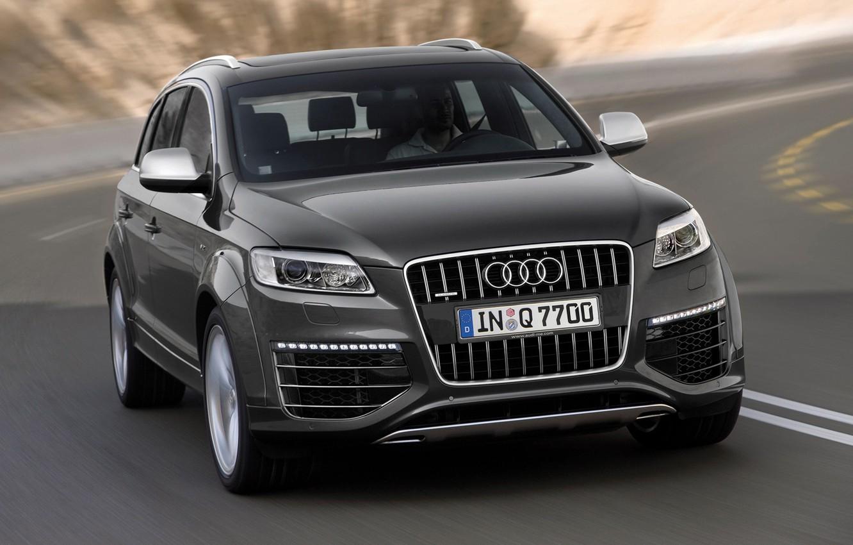 Фото обои Audi, Ауди, Q7 V12