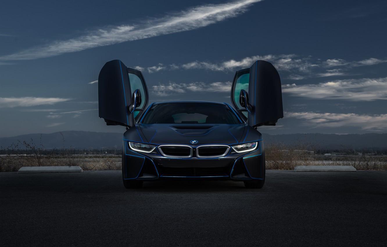 Фото обои BMW, Car, Sky, Front, Collection, Aristo, Doors, Customs