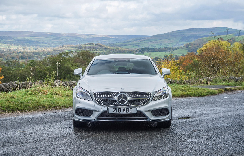 Фото обои CLS, Mercedes, Benz, 350