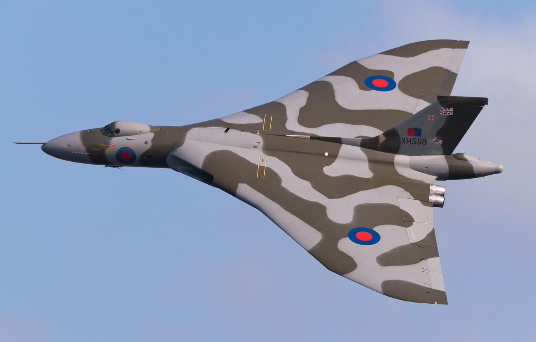 Обои Vulcan, Самолёт, bomber. Авиация foto 9
