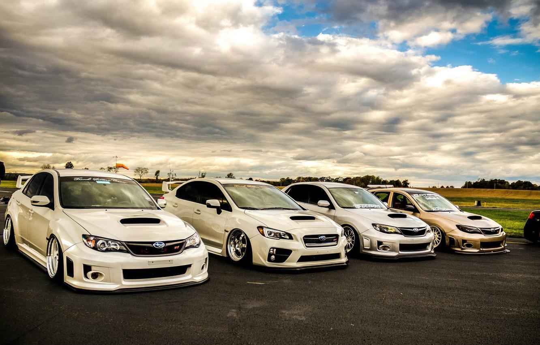 Фото обои turbo, subaru, japan, wrx, impreza, jdm, tuning, sti, low, stance, dropped