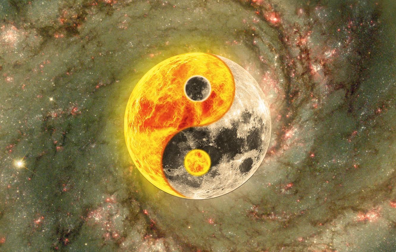Обои Гармония, инь-янь, символ. Разное foto 7