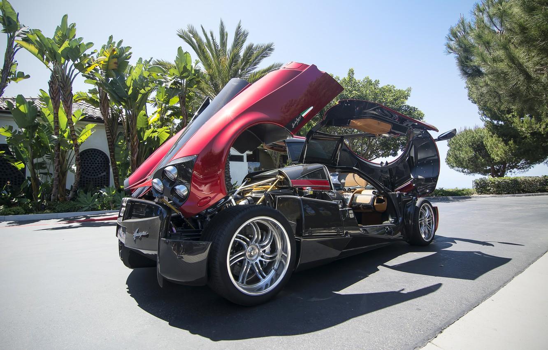 Фото обои Pagani, Huayra, sportscar, Pagani Huayra