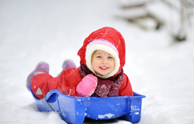 Фото обои зима, дети, новый год, ребенок, рождество, девочка, christmas, new year, happy, winter, child, children, little …