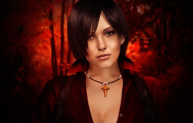 Фото обои Обитель зла, fan art, Resident Evil 6, ада вонг, Ada Wong