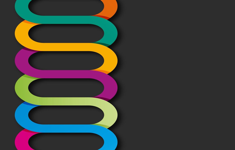 Обои colorful, background, geometry, colors, Abstract, shapes, rainbow. Абстракции foto 19