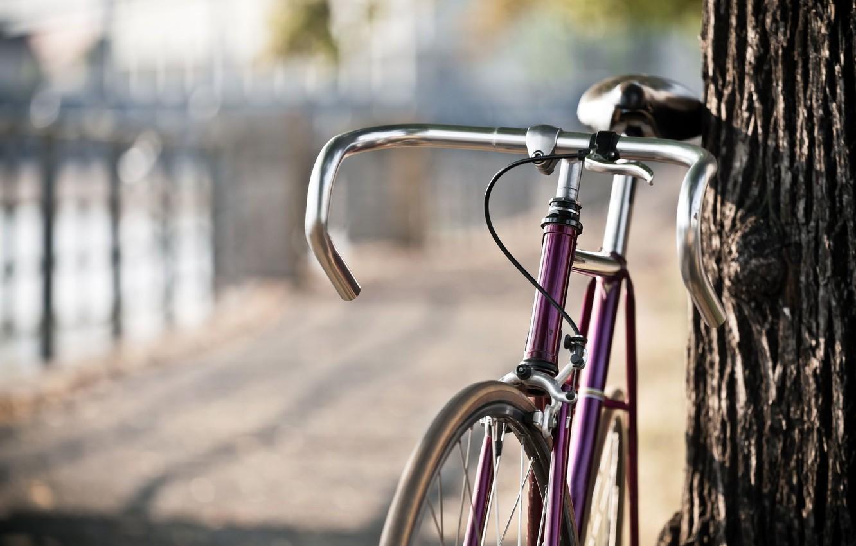 Обои разное, дорожный знак, размытие, Светофор, велосипед. Разное foto 10
