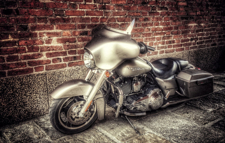 Фото обои фон, мотоцикл, Harley-Davidson