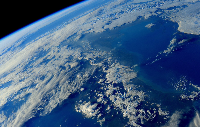 Фото обои космос, земля, планета