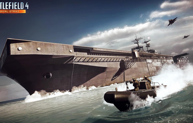 Фото обои катер, Electronic Arts, Battlefield 4, naval strike