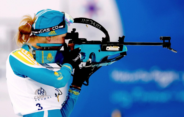Фото обои Games, Казахстан, Asian, Winter, 2011, Алматы, Азиада, Хрусталева, 7-th, Биатлон