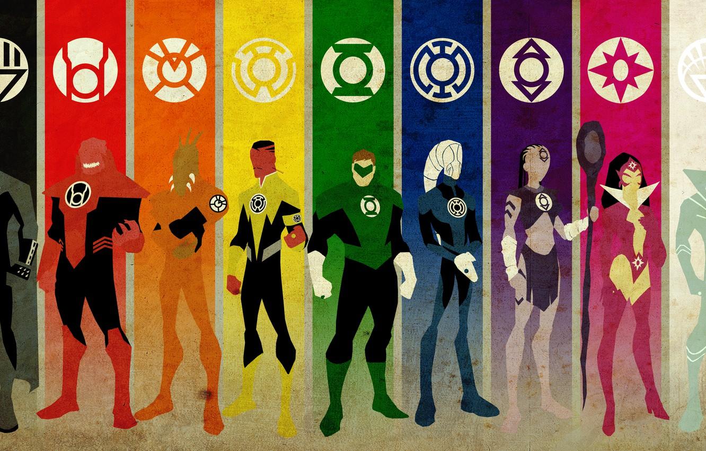Фото обои green, love, white, black, life, woman, yellow, alien, blue, pink, man, orange, will, death, stick, …