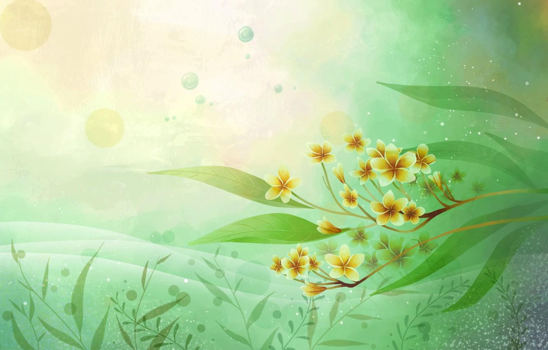 Обои вектор, абстракция, цветы, открытка. Разное foto 9