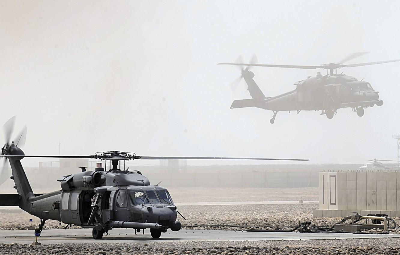 Фото обои Армия, США, Вертолеты, UH-60