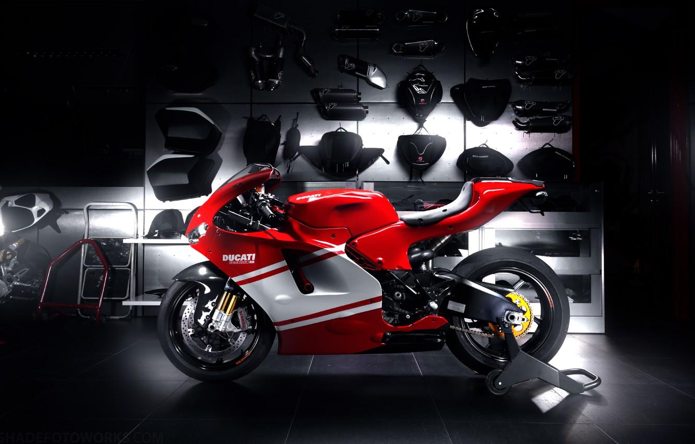 Обои Ducati, rr, desmosedici. Мотоциклы foto 8
