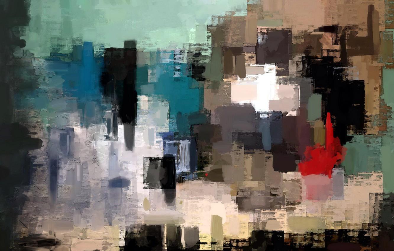 Фото обои абстракция, стиль, фон, картина