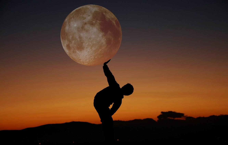 луна человек фото картинка пролог, время которого