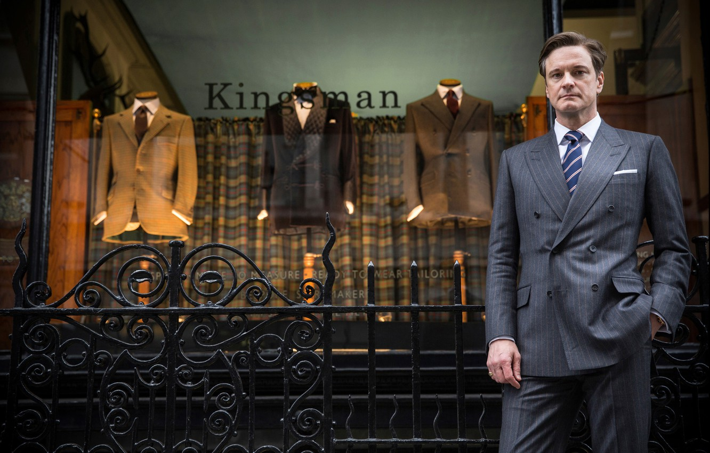 Фото обои Colin Firth, Колин Фёрт, Kingsman