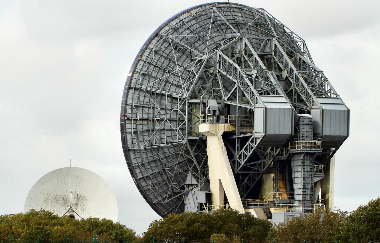 Фото обои антенна, технология, радиотелескоп, satellite