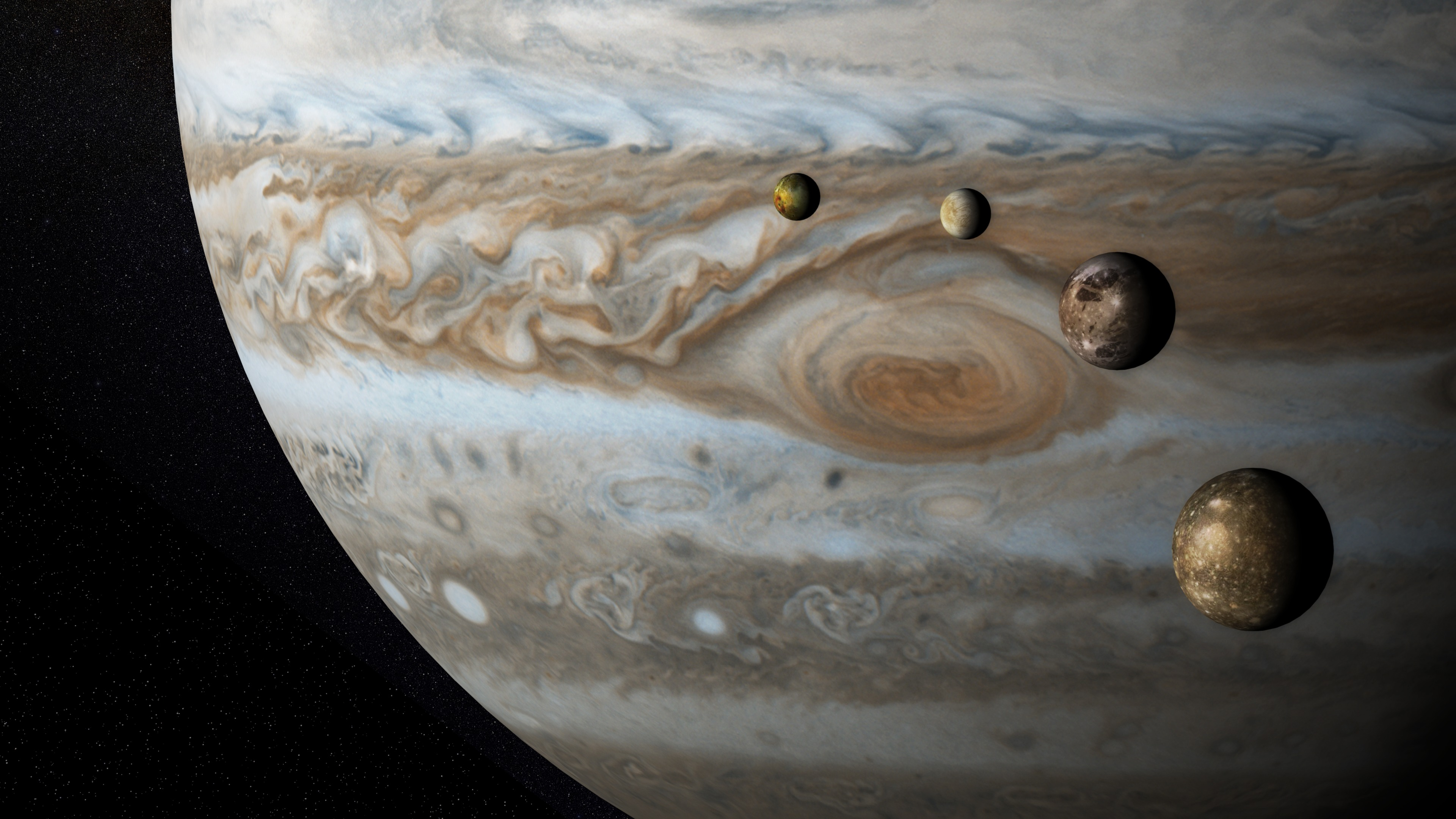 discover planets and moons in amazing detail-inverse - HD 3840×2160