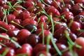 Картинка Ягоды, черешня, много, красная, фокус