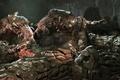 Картинка Gears of war, битва, герои, фатастика