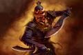 Картинка атака, мечи, Jade Empire, Игры, воин, маска