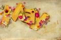 Картинка цветы, буквы, бабочки, Май