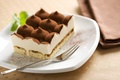Картинка еда, тарелка, plate, пирожное, вилка, cake, крем, десерт, food, сладкое, 1920x1080, какао, cream, sweets, dessert, ...